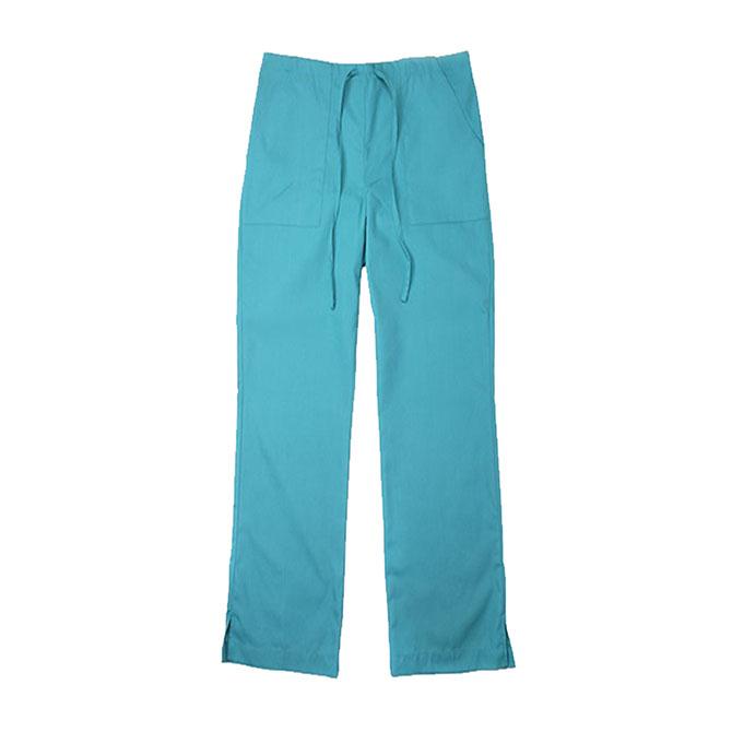 SP62F - 65/35 Poly/Cotton Poplin Flare Leg Scrub Pant