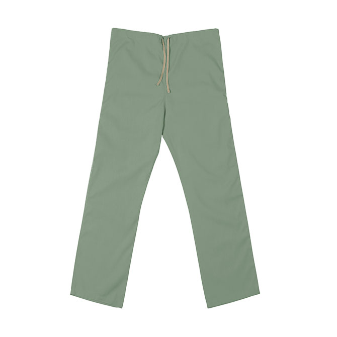 SP60U Misty Green - 65/35 Poly/Cotton Poplin Scrub Pant