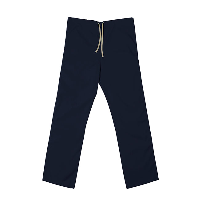 SP60U Navy Blue - 65/35 Poly/Cotton Poplin Scrub Pant
