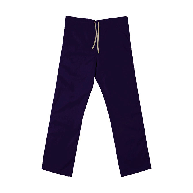 SP60U Purple - 65/35 Poly/Cotton Poplin Scrub Pant
