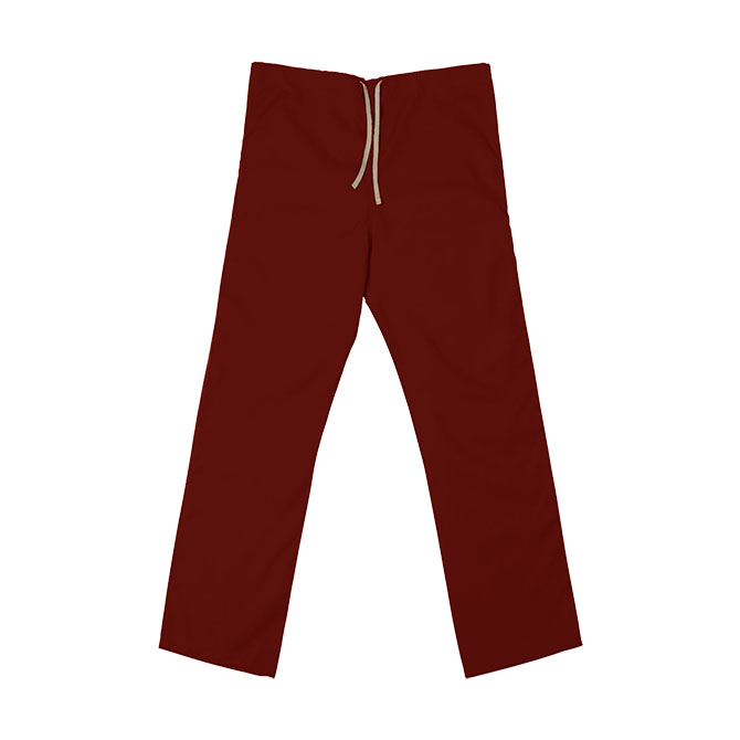 SP60U Red - 65/35 Poly/Cotton Poplin Scrub Pant