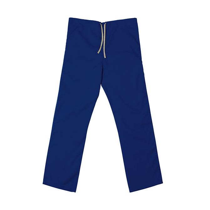 SP60U Royal Blue - 65/35 Poly/Cotton Poplin Scrub Pant