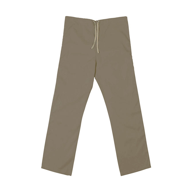 SP60U Tan 65/35 Poly/Cotton Poplin Scrub Pant
