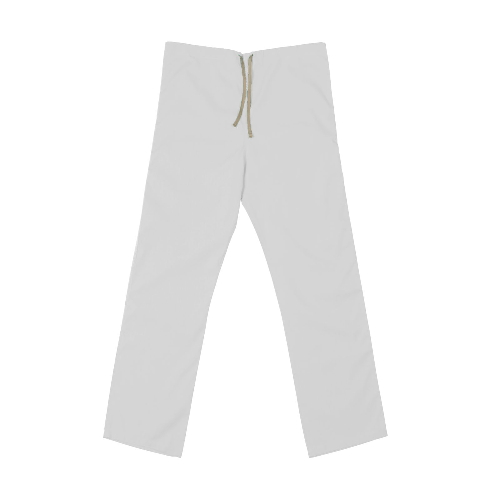 SP60U White - 65/35 Poly/Cotton Poplin Scrub Pant