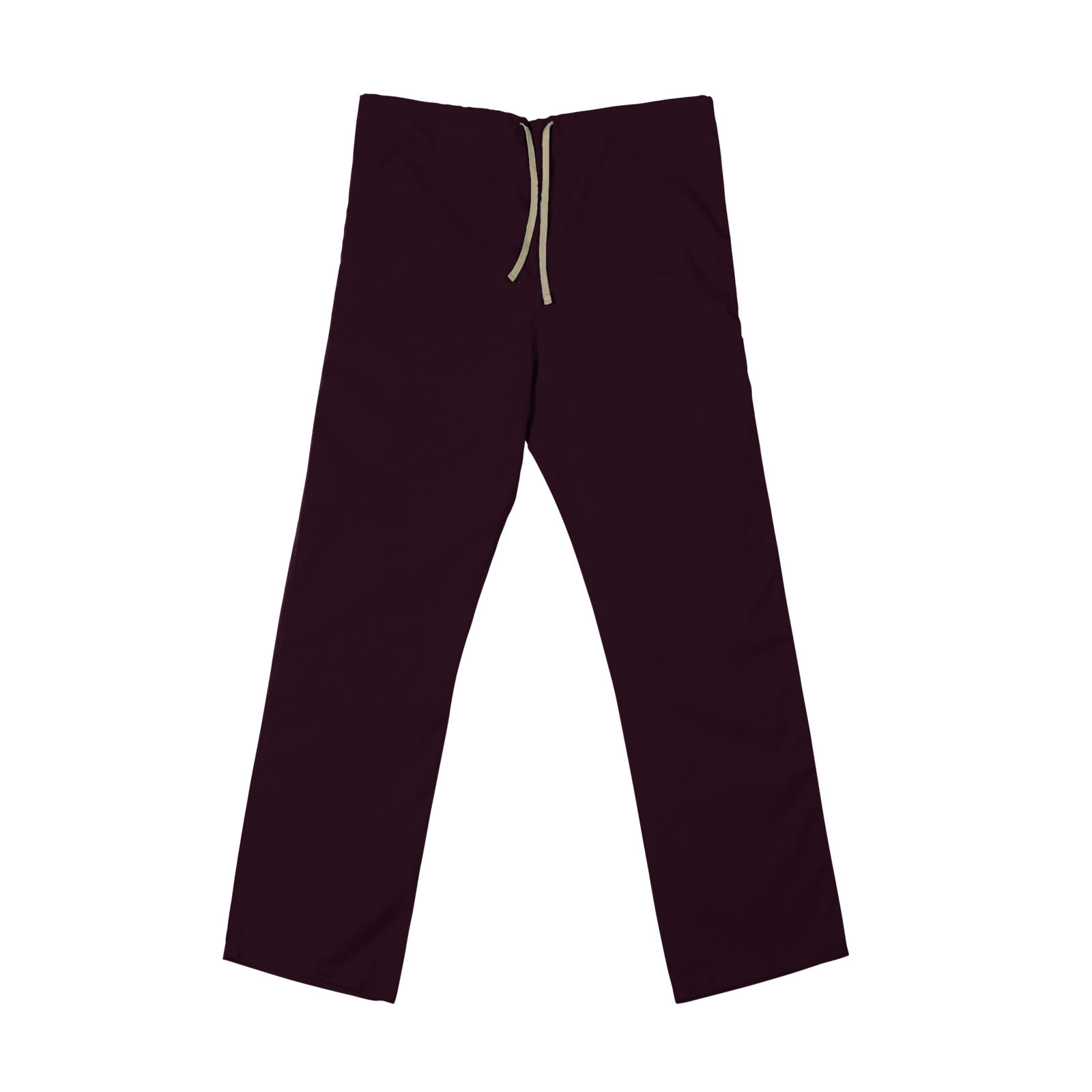 SP60U Wine - 65/35 Poly/Cotton Poplin Scrub Pant
