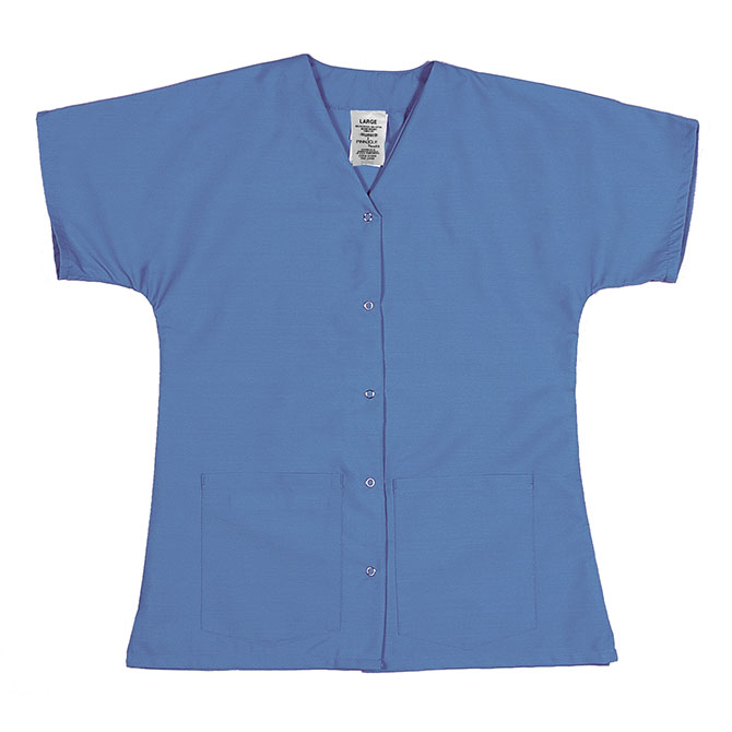 ST64FCB-Scrub Tunic Top, Female, Gripper Front