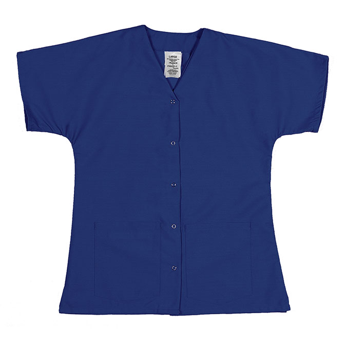 ST64FRO-Scrub Tunic Top, Female, Gripper Front