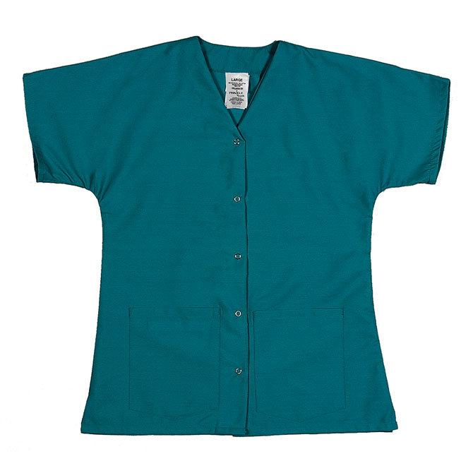 ST64FTL-Scrub Tunic Top Female, Gripper Front
