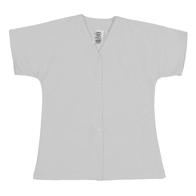 ST64FWH-Scrub Tunic Top, Female, Gripper Front