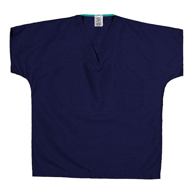 ST90U Sapphire Blue - Scrub Top, Reversible, Unisex, 65/35