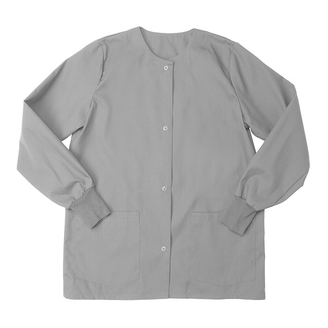 SW68F Gray - Warm Up Jacket, Female, Knit Cuffs