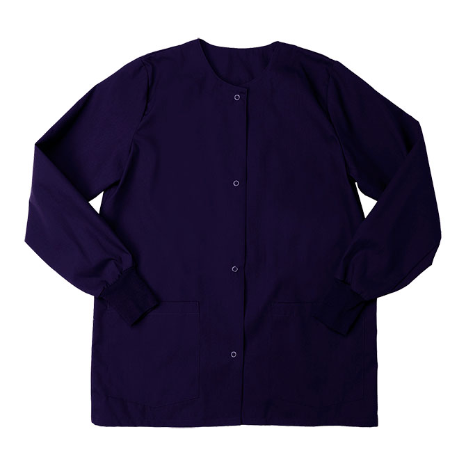 SW68F Purple - Warm Up Jacket, Female, Knit Cuffs