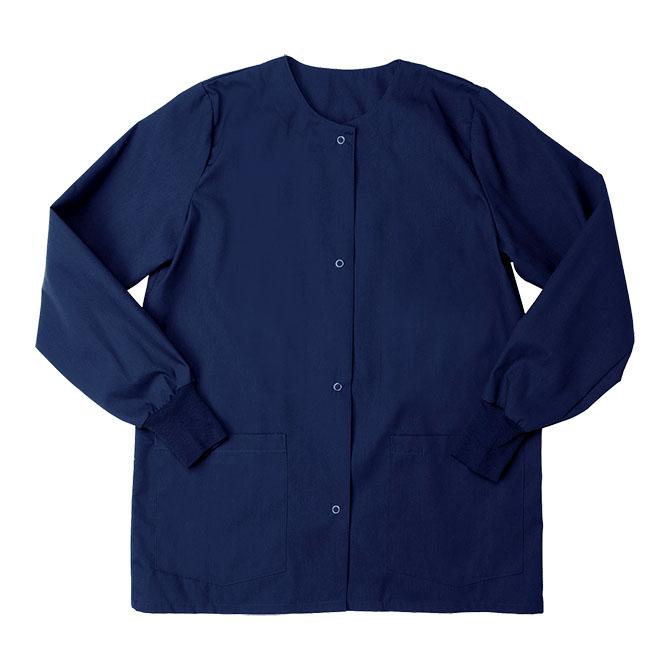 SW68F Sapphire Blue - Warm Up Jacket, Female, Knit Cuffs