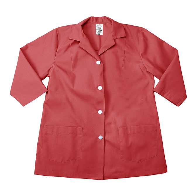 US16CR-Utility Smock, 3/4 Sleeves, Spun