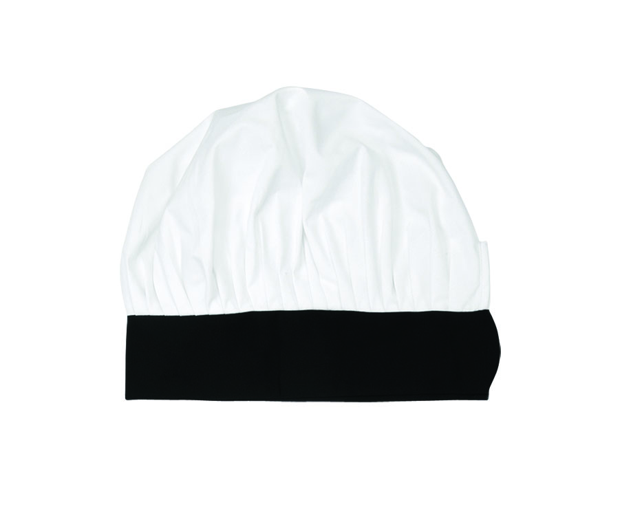 X100-Chef Hat, Velcro Closure